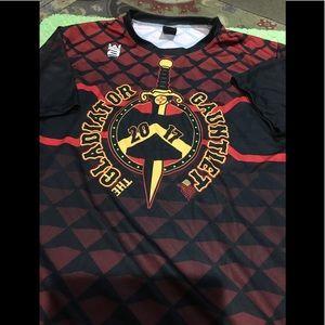 Mens medium ss shirt by addix gear